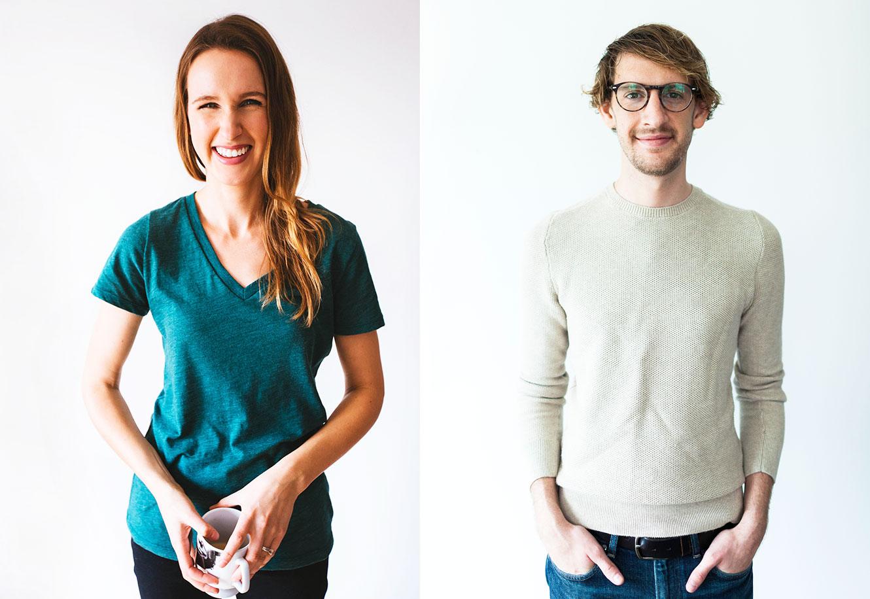 Photos of John and Dana from Minimalist Baker