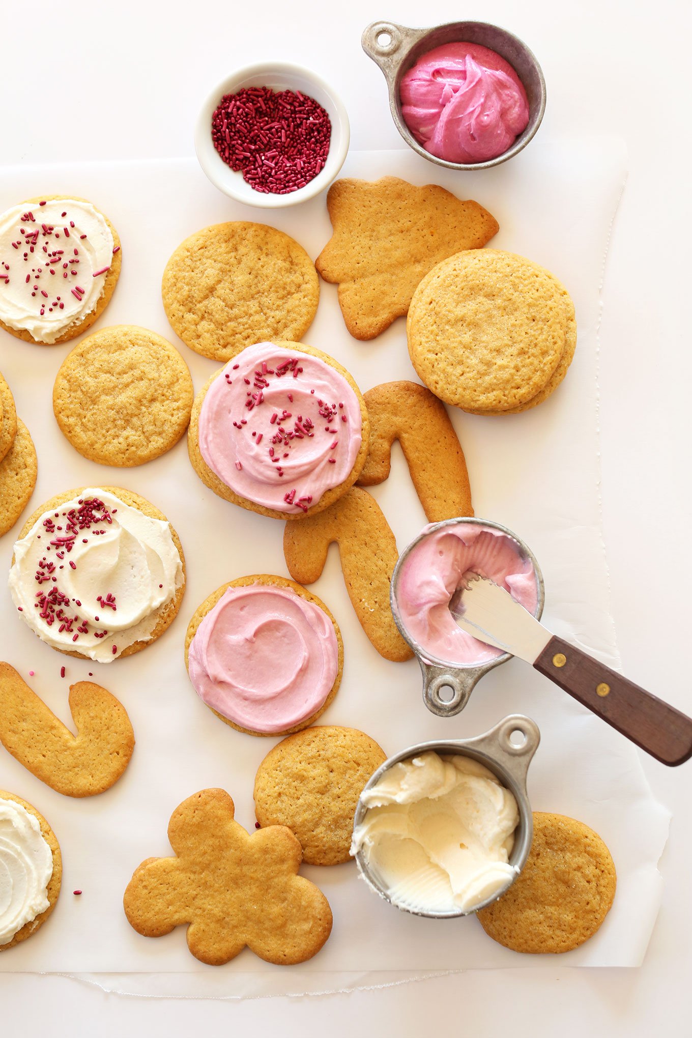 Vegan Perfect 1 Bowl Sugar Cookies Cut Out Or Scoop Into Circles Easy