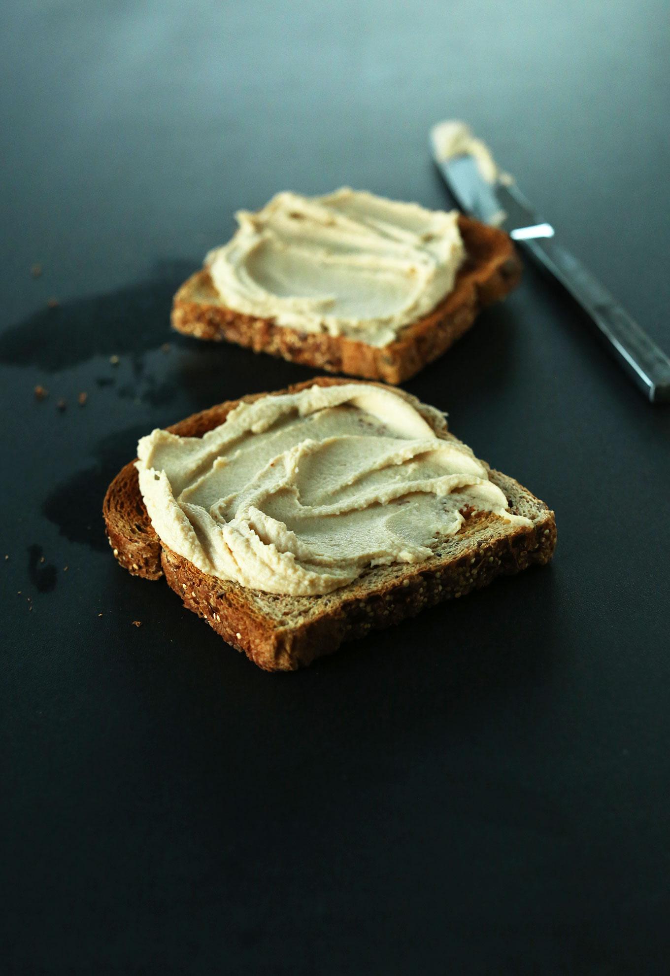 Hummus Toast #minimalistbaker