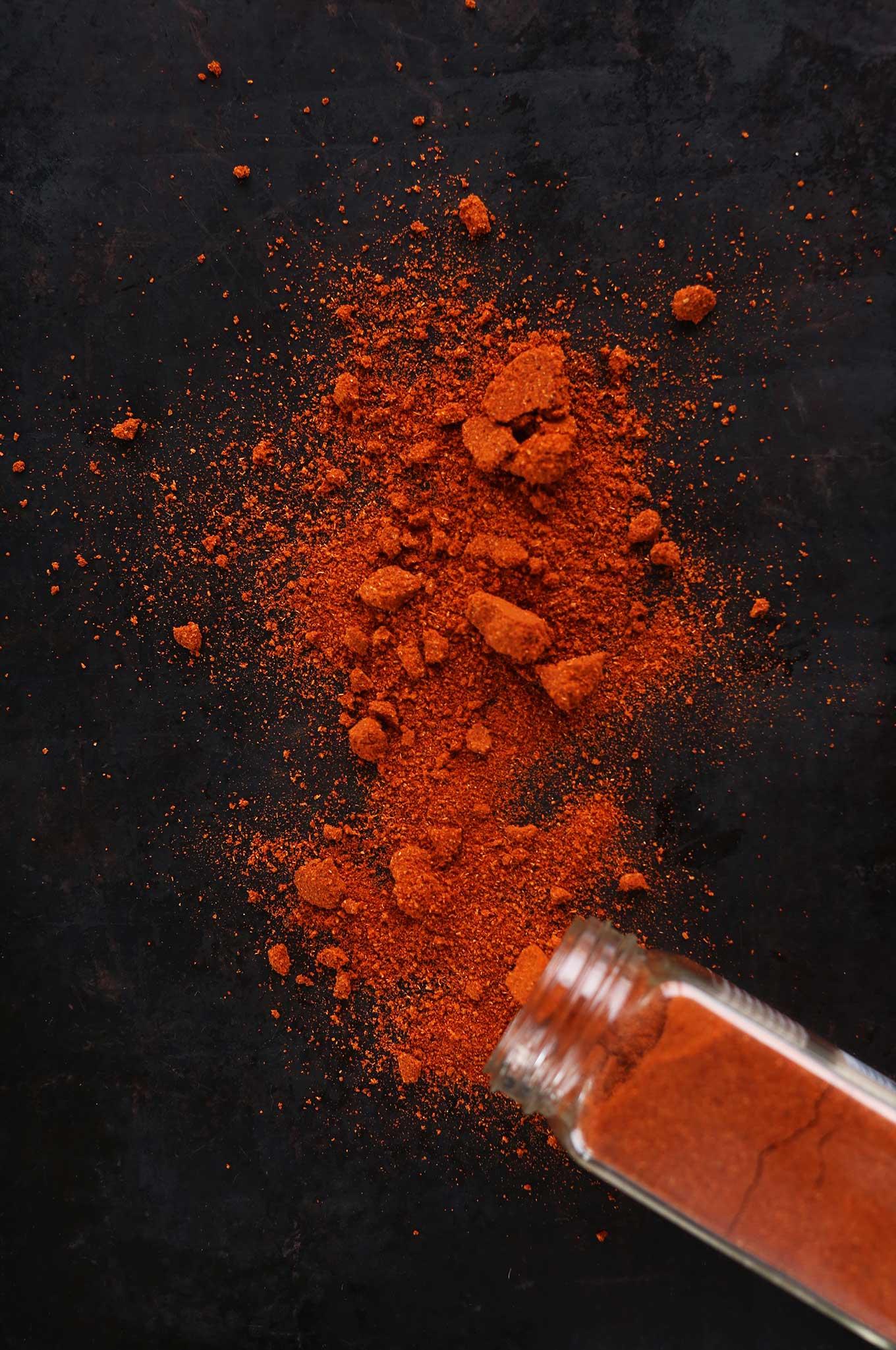 Jar of Masala Spice Blend