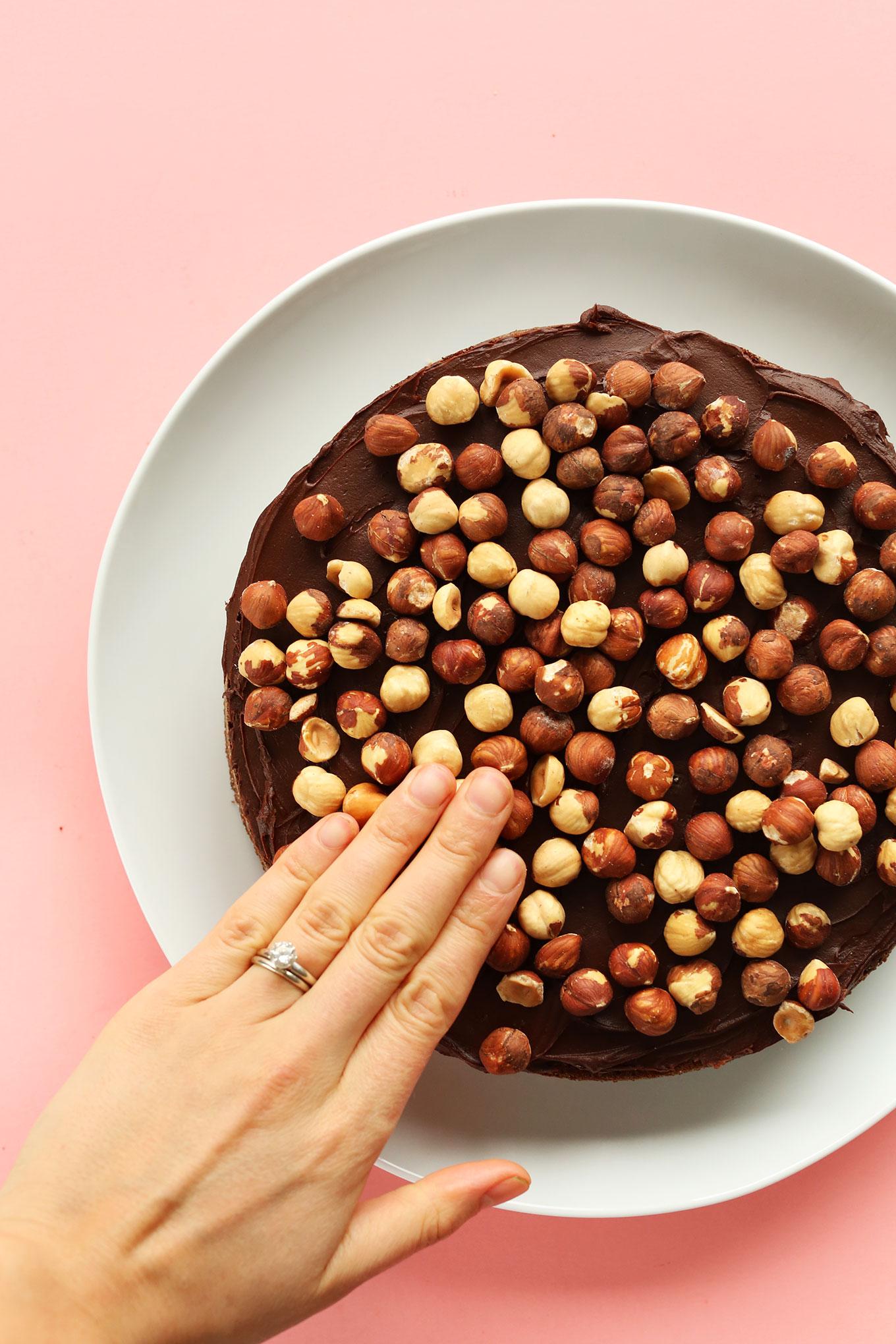 Vegan Super Moist Chocolate Cake