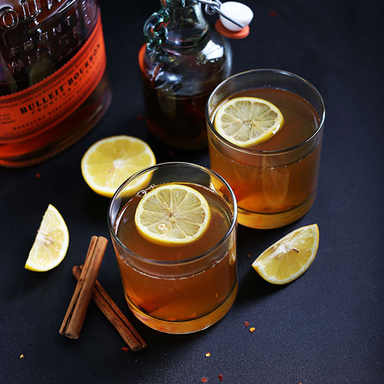 Cinnamon Bourbon Hot Toddy