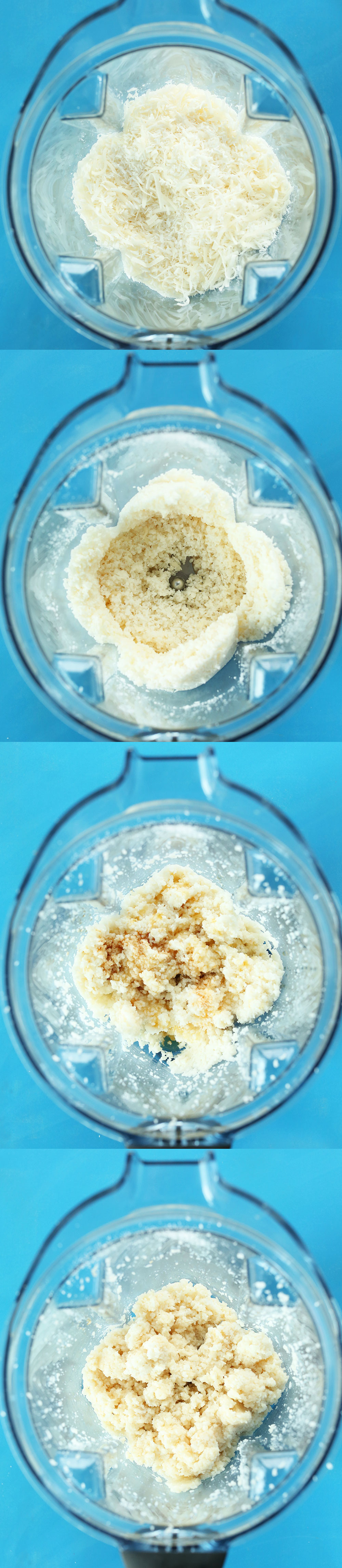 Photos showing How to Make Vegan Coconut Macaroons