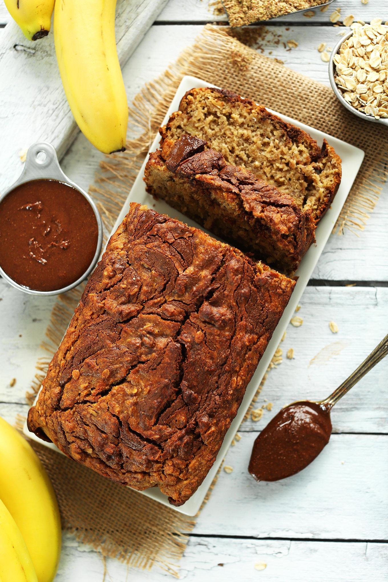 Simple Banana Nut Bread Recipe