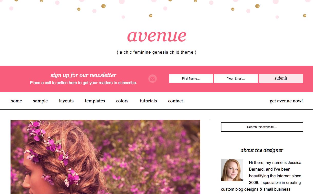 Avenue Theme for WordPress Blogs