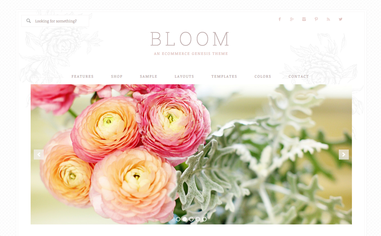 Bloom Theme for WordPress Blogs