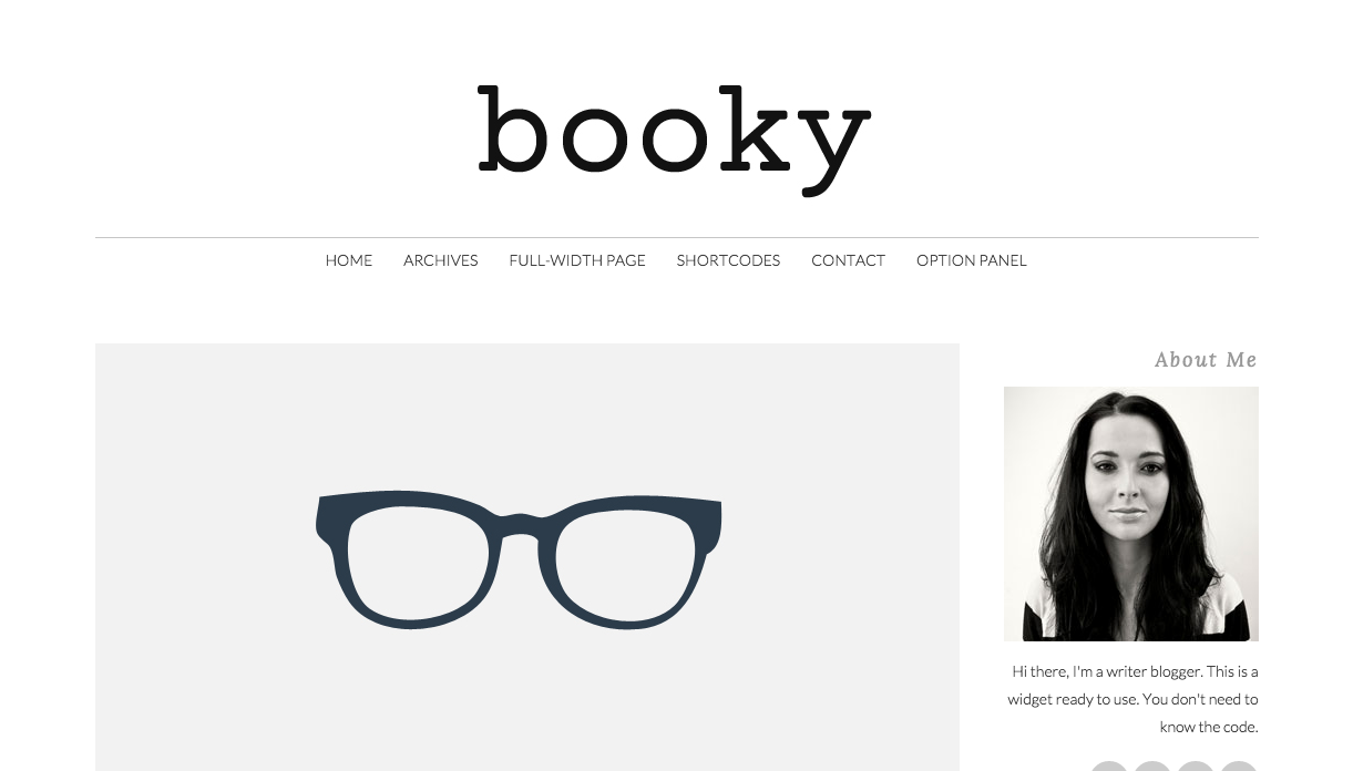 Booky Theme for WordPress Blogs
