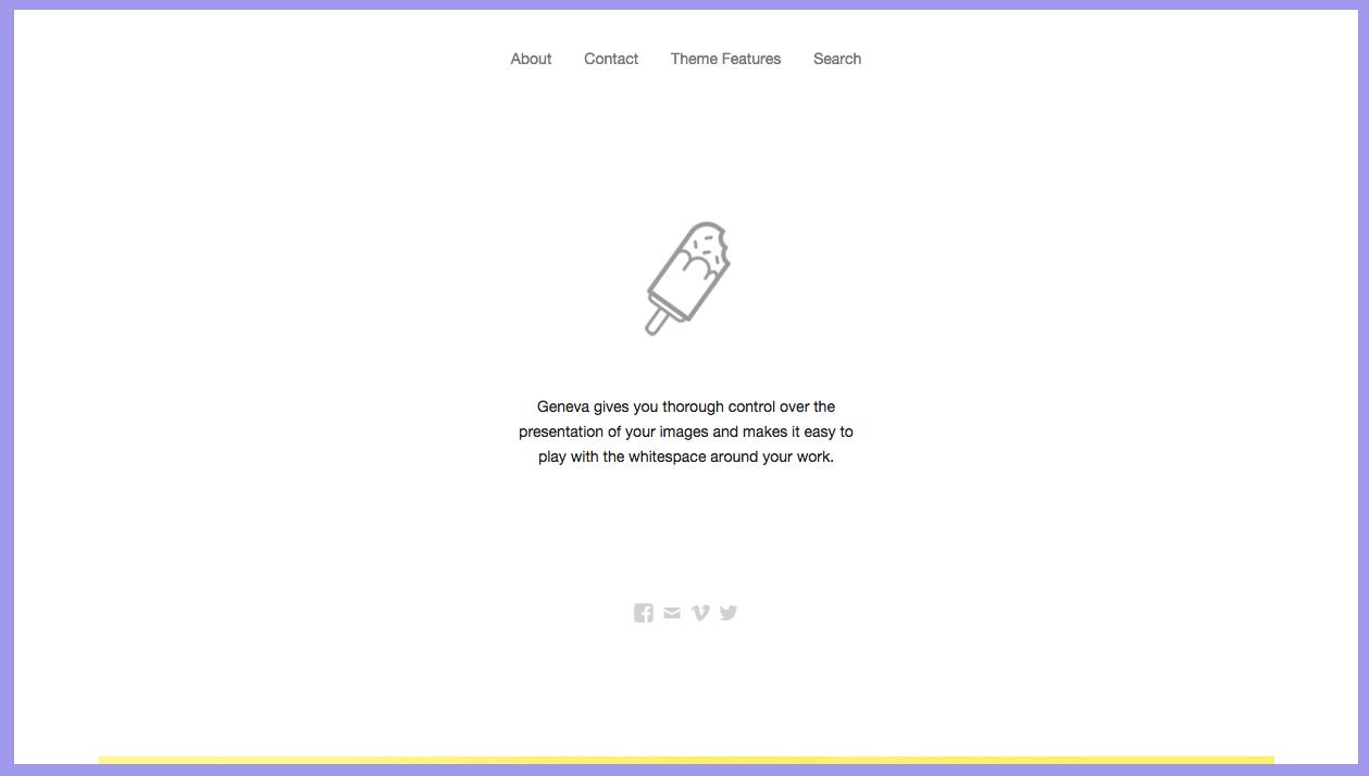 Geneva Theme for WordPress Blogs