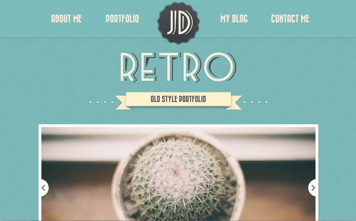 Retro Theme for WordPress Blogs