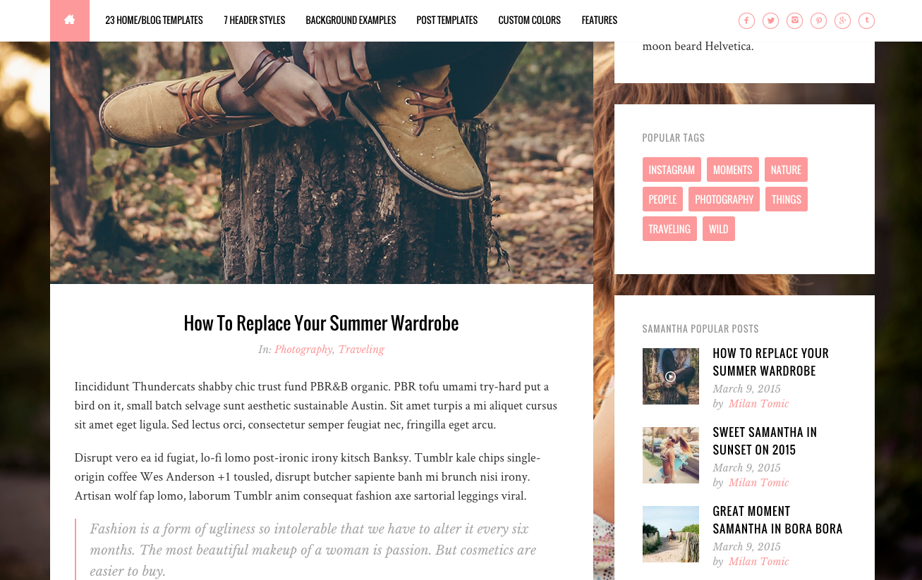 100+ Best WordPress Themes for Food Blogs 2017