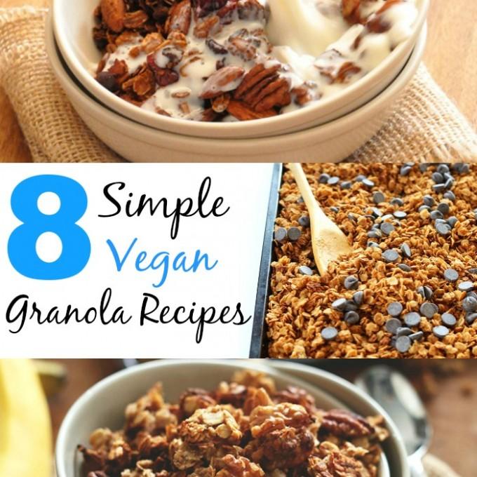 8 Simple Vegan Granola Recipes