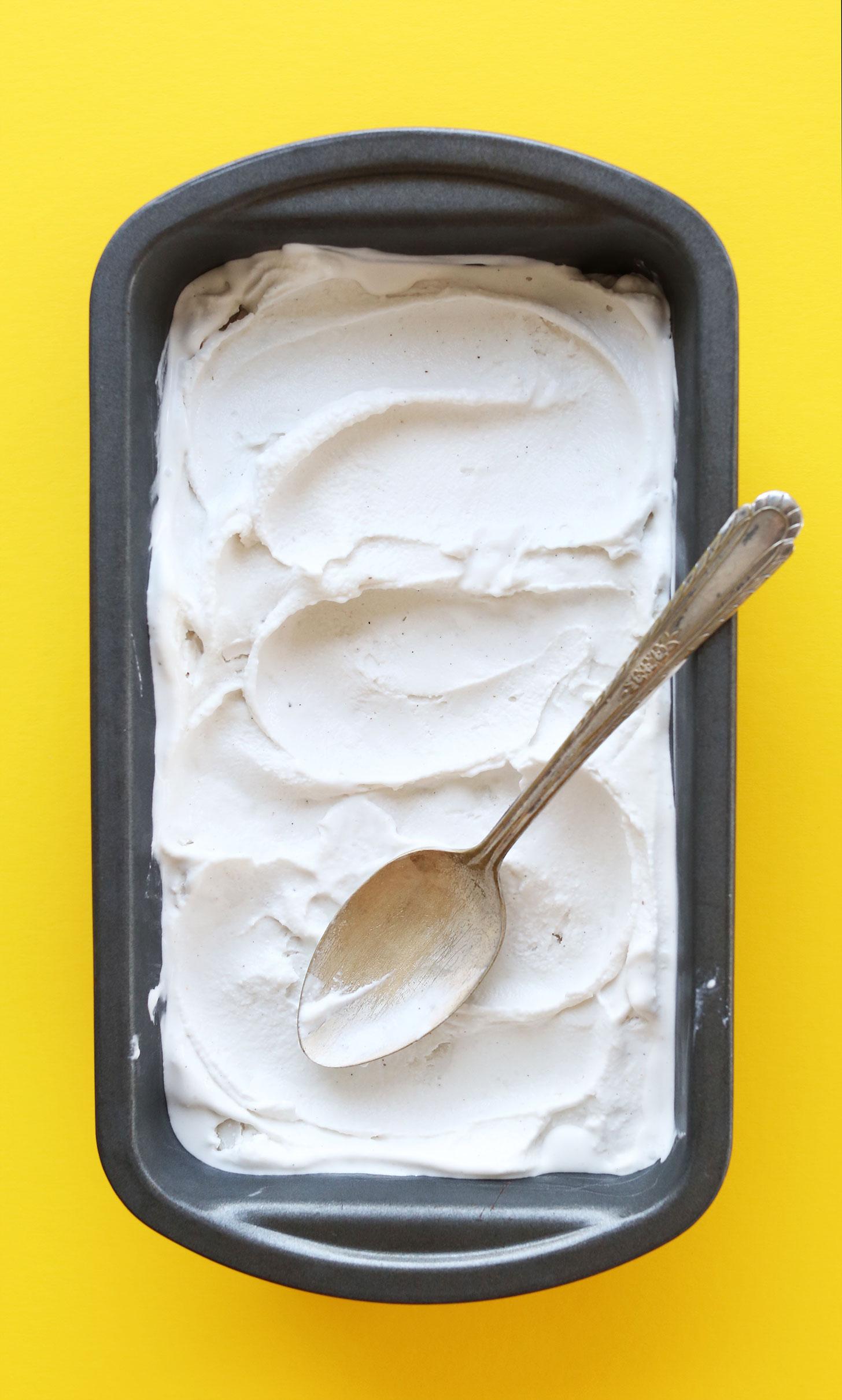 Vanilla Coconut Ice Cream | Minimalist Baker Recipes