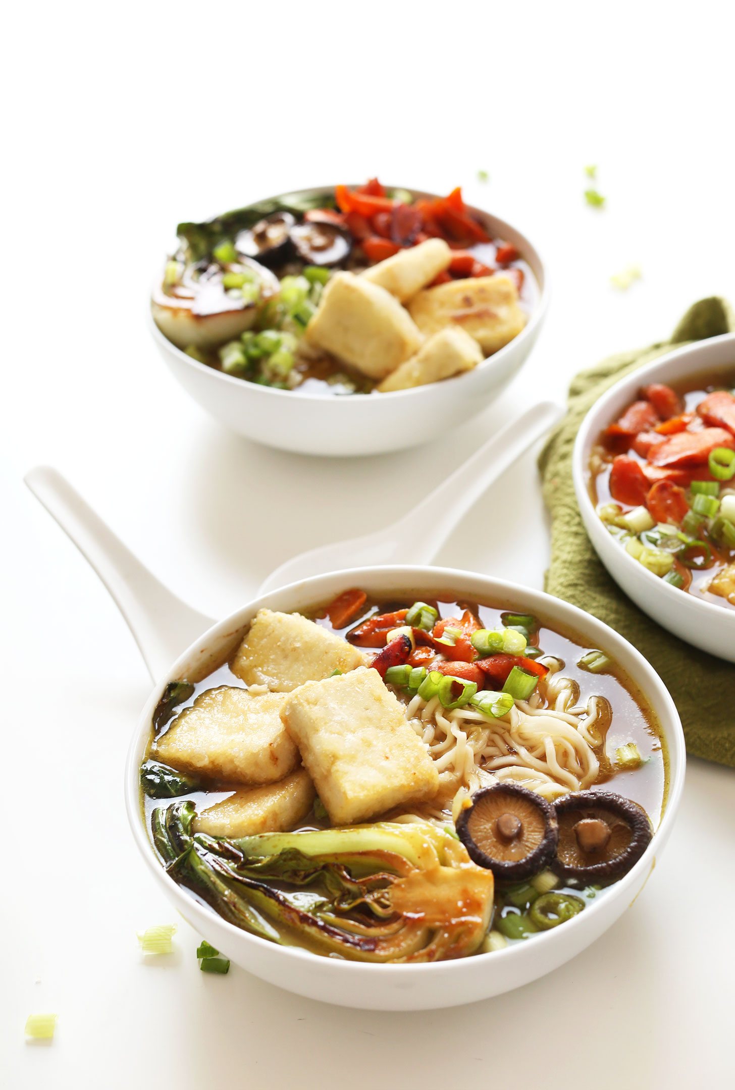 Easy vegan ramen minimalist baker recipe bowl of our vegan ramen packed with vegetables for a healthy plant based meal forumfinder