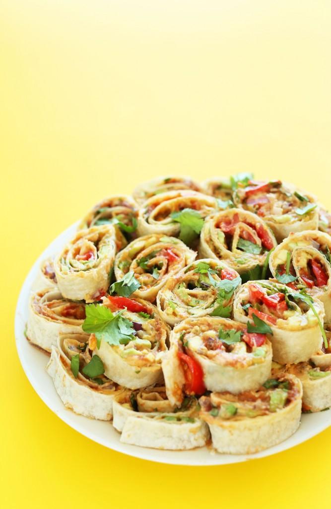 Mexican Pinwheels Minimalist Baker Recipes