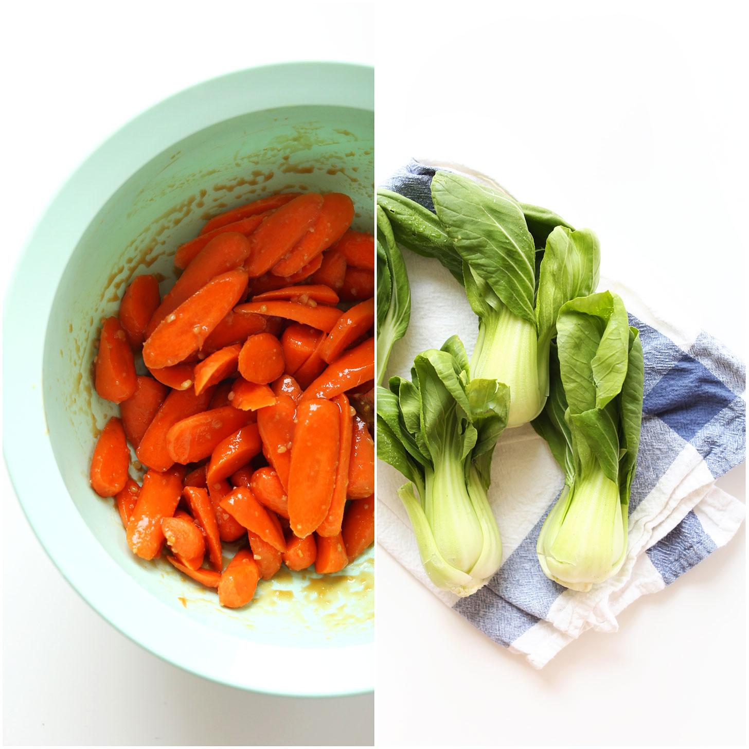 Miso Roasted Vegetables | Vegan Ramen! #vegan #minimalistbaker