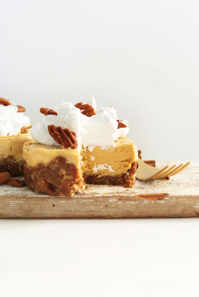 Vegan Pumpkin Cheesecake Minimalist Baker Recipes