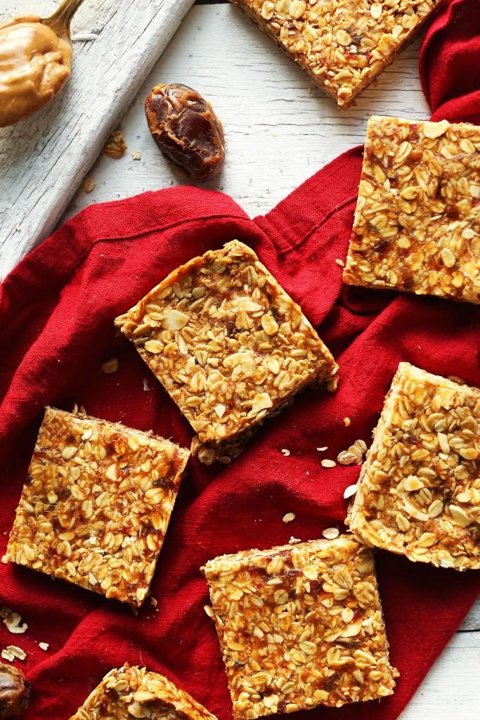 Peanut Butter Granola Bars Minimalist Baker Recipes