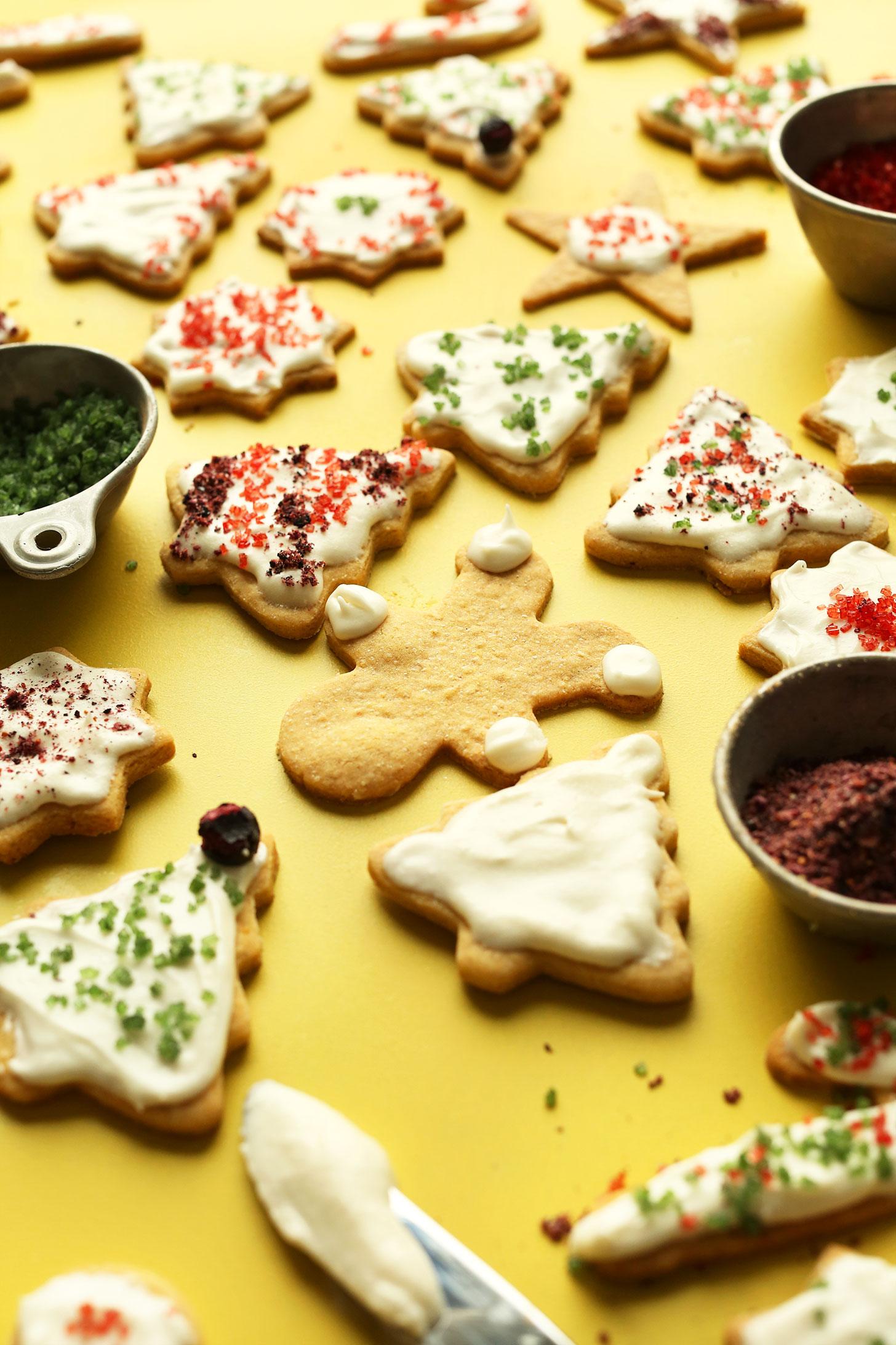 Vegan Gluten Free Sugar Cookie Recipe | Flo and Grace |Sugar Free Cookie Recipes