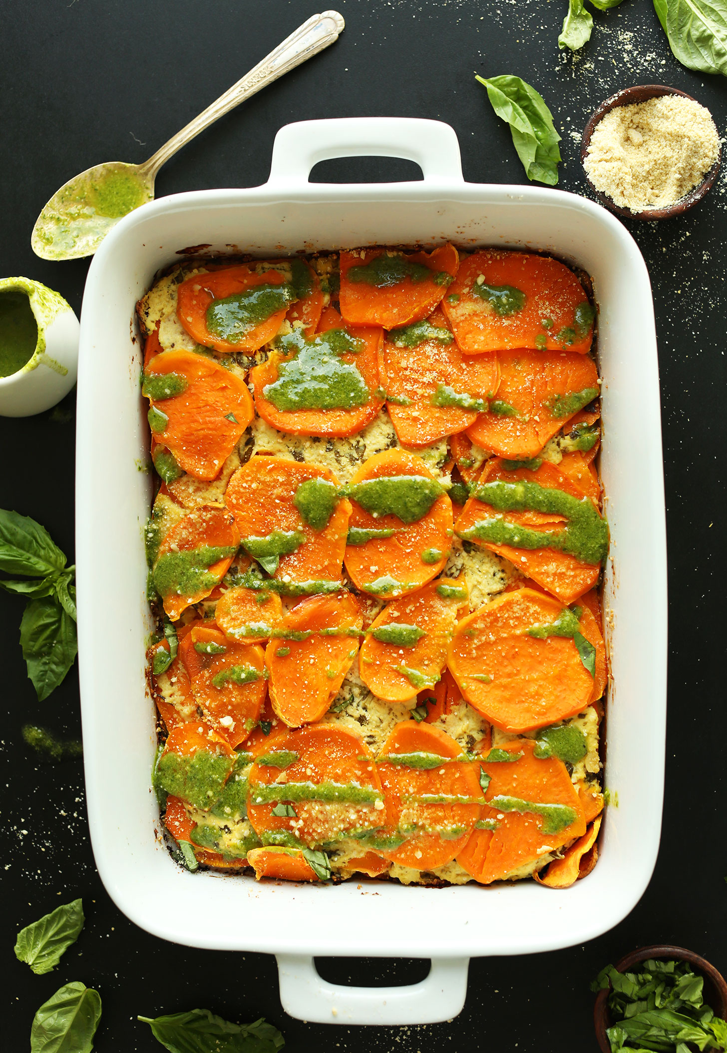 Sweet potato lasagna minimalist baker recipes sweet potato lasagna forumfinder Image collections