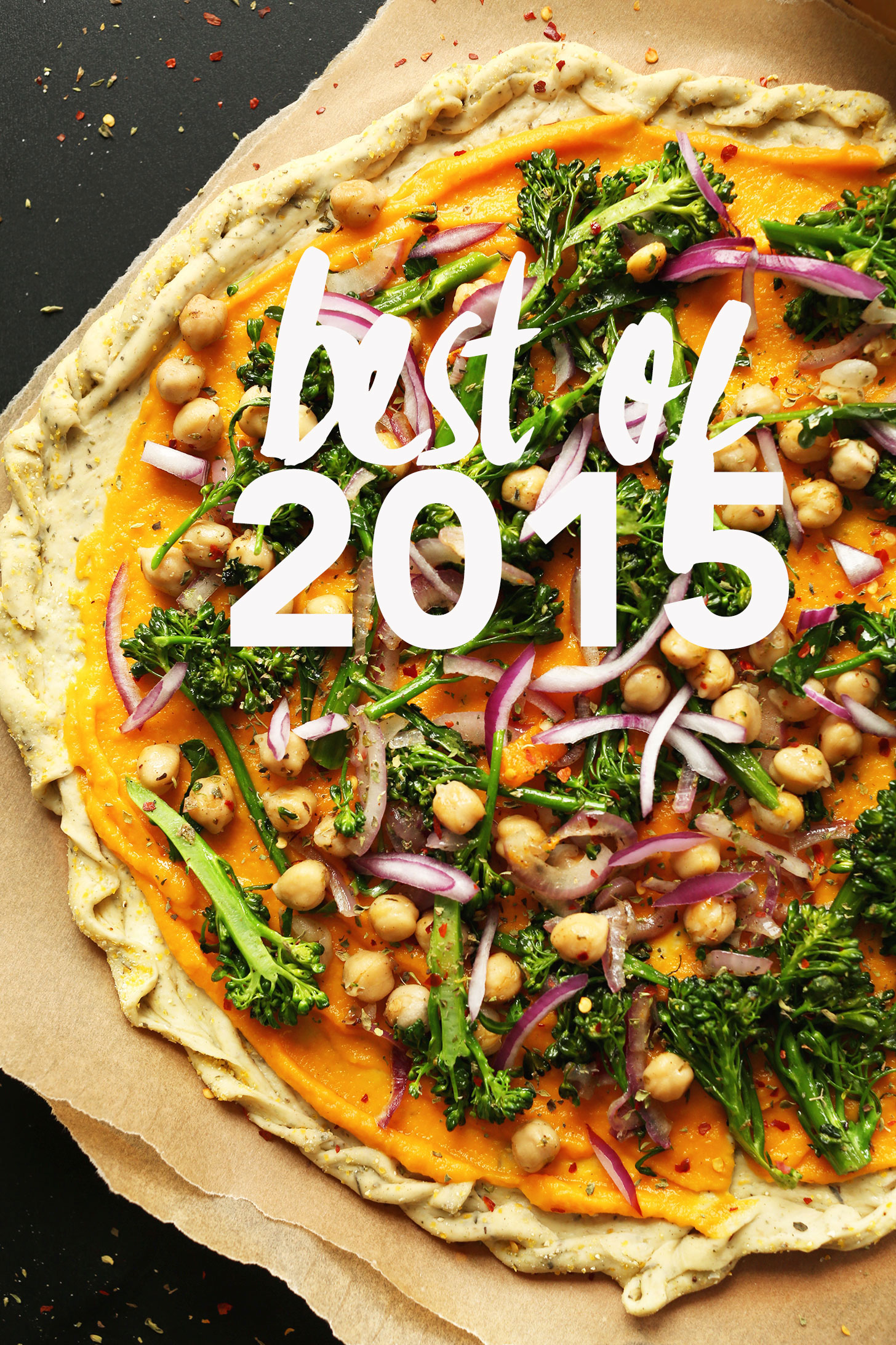 Photo of pizza for our Best of 2015 recipe roundup