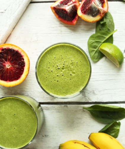 Blood Orange Green Smoothie