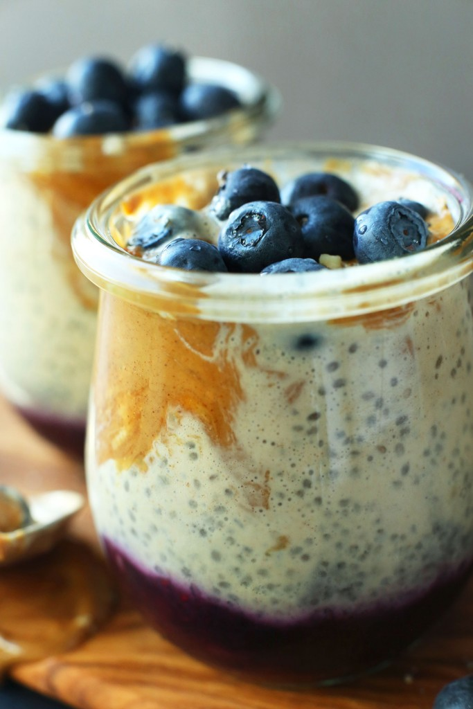 Peanut Butter And Jelly Chia Pudding Minimalist Baker Recipes