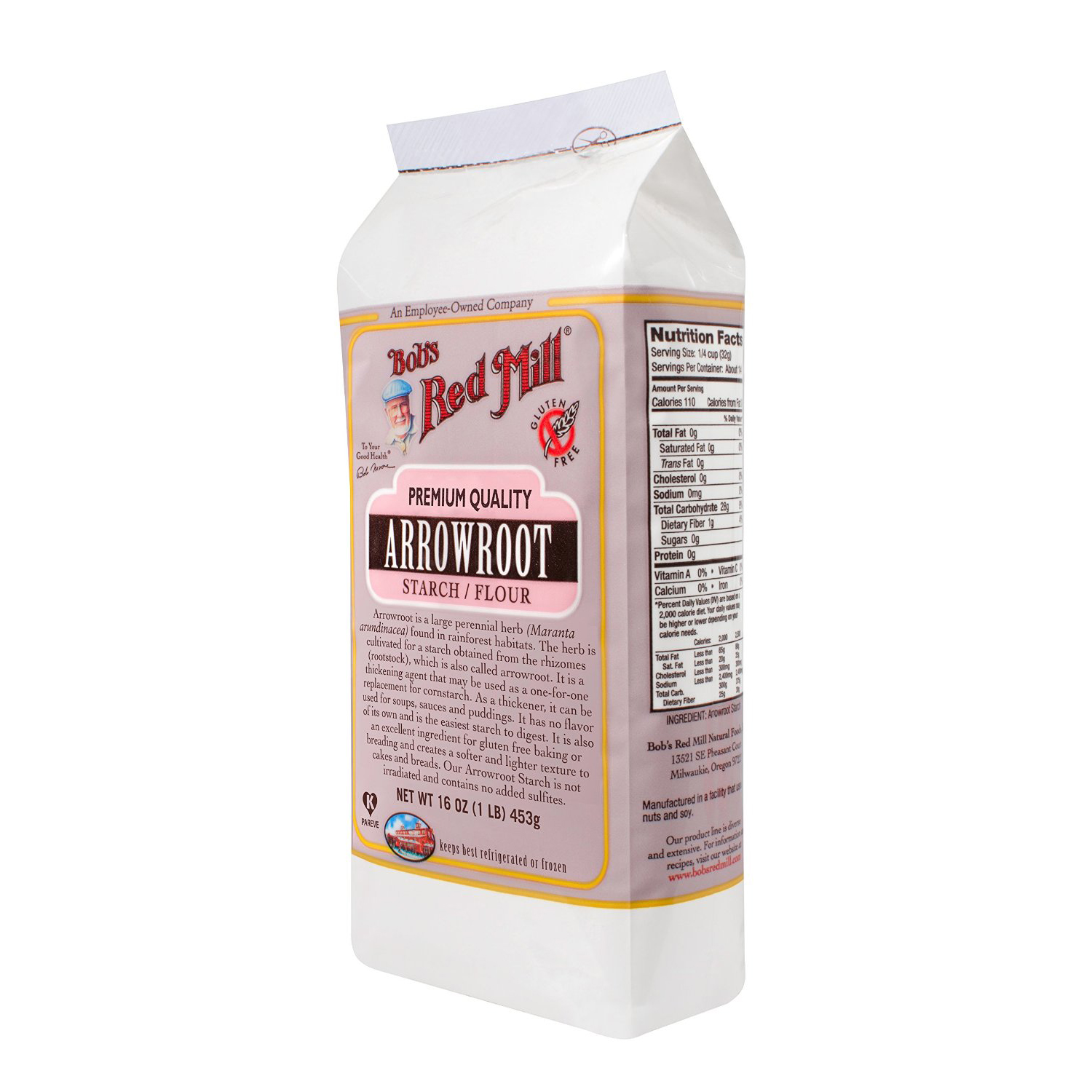Our favorite brand of arrowroot flour