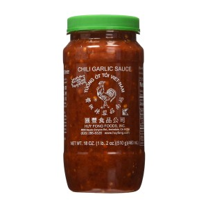 Our favorite brand of chili garlic sauce