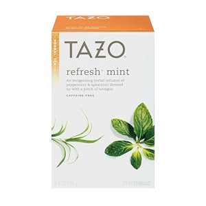 Our favorite mint tea