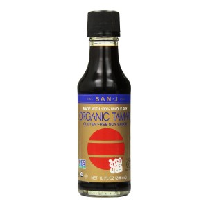 Our favorite brand of gluten-free soy sauce