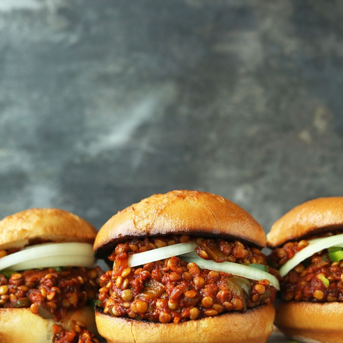 Simple and amazing Vegan Sloppy Joes for a nutrient-rich plant-based dinner