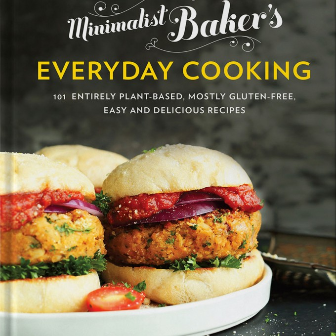 Photo of the cover of Minimalist Baker's Everyday Cooking cookbook