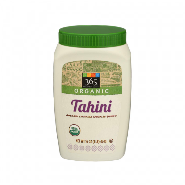 Bottle of our favorite brand of tahini