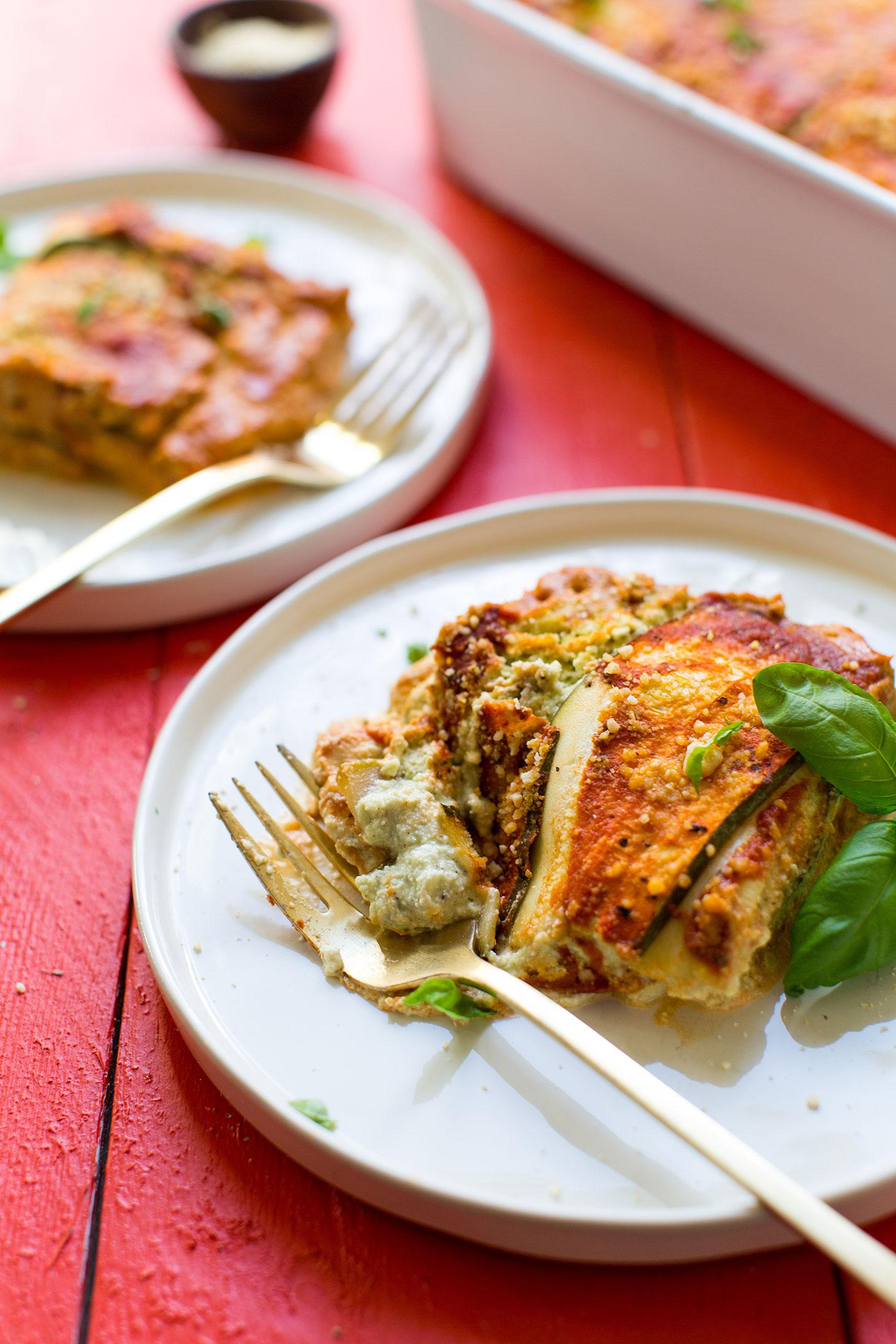 Gluten-Free Vegan Zucchini Lasagna