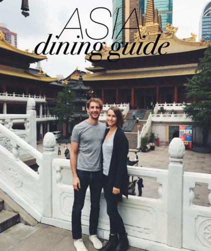 Dining Guide: Shanghai, Seoul, & Japan!