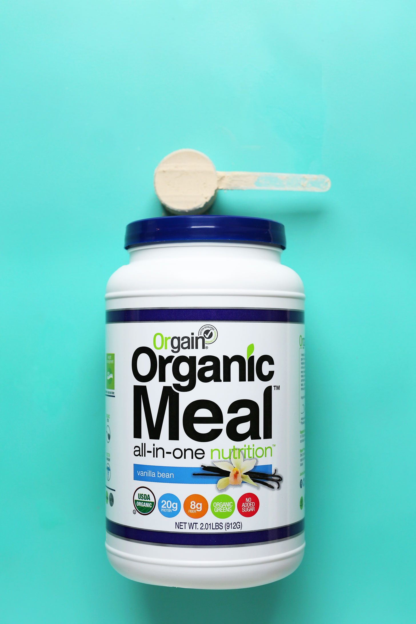 Orgain vegan vanilla protein powder review