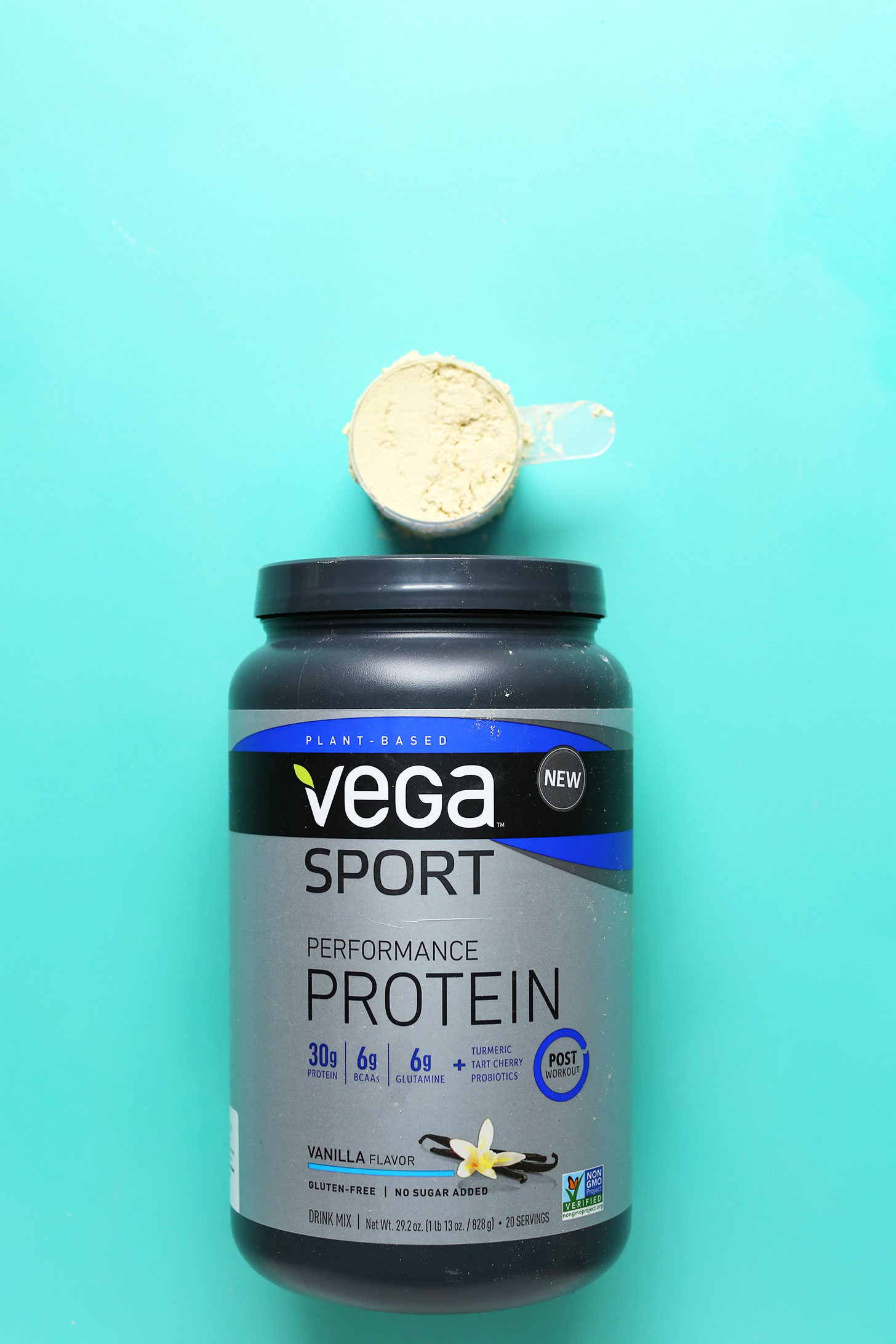 Vega Sport vegan vanilla protein powder review