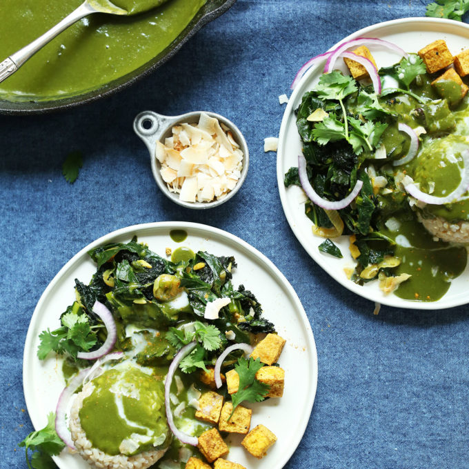 Vibrant Coconut Green Curry