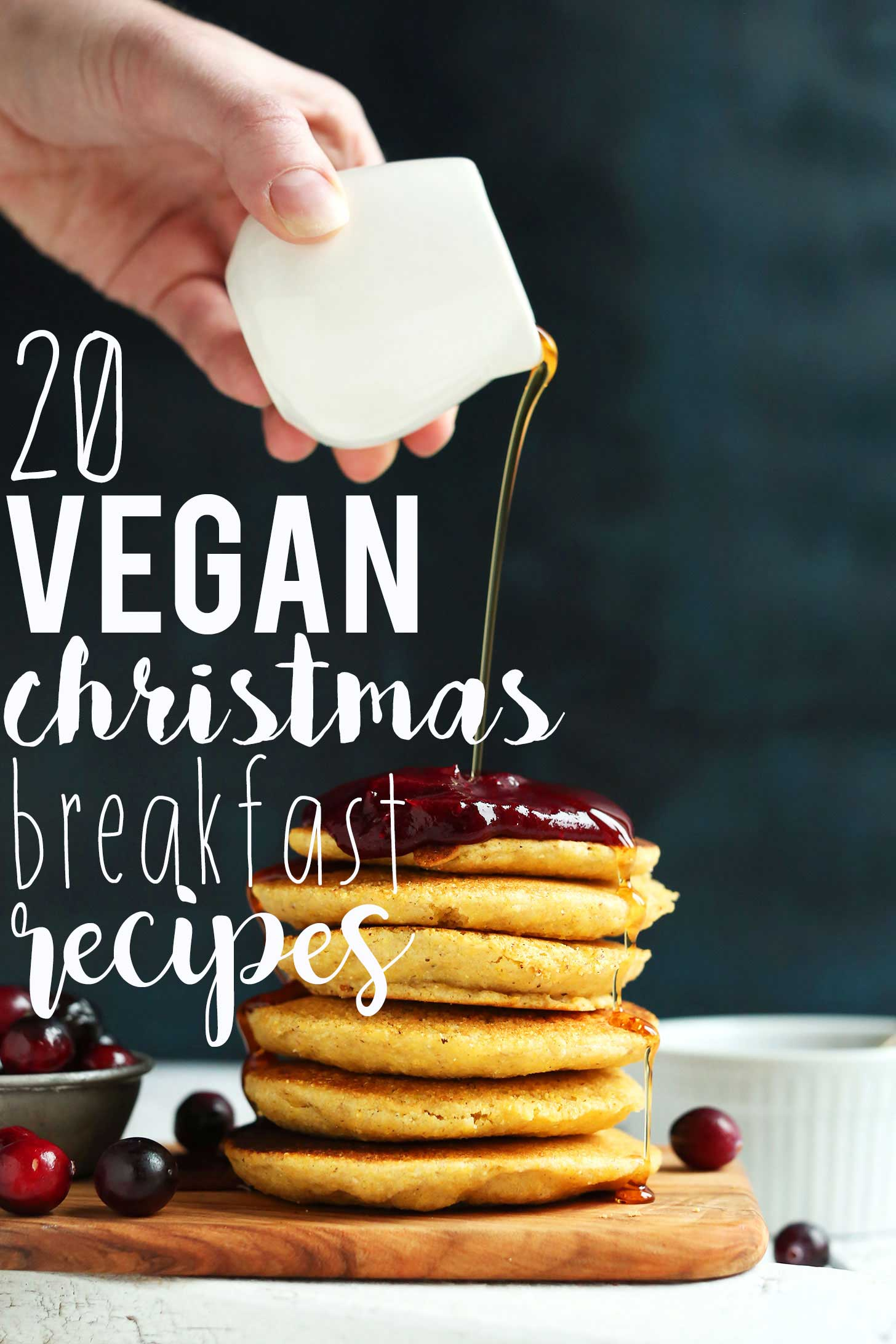 Photo of one of our 20 Easy Vegan Christmas Breakfast Ideas