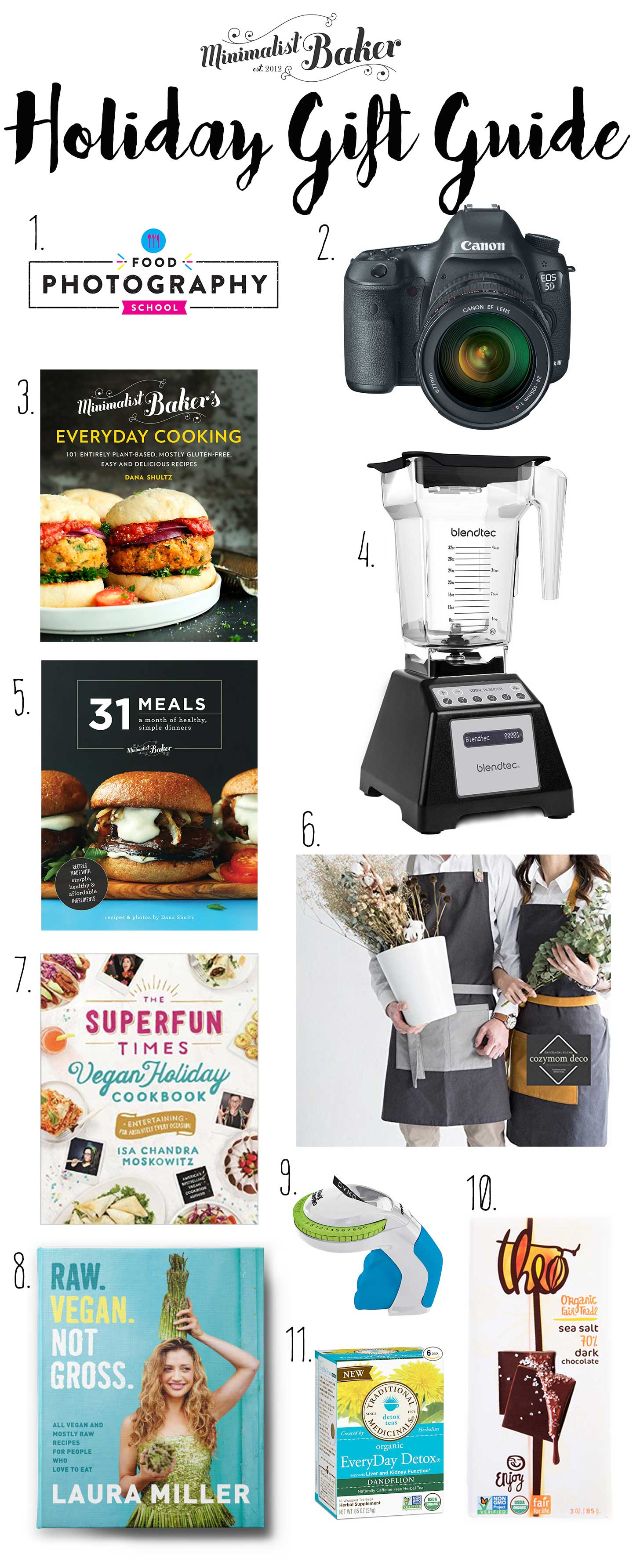 2016 Holiday Gift Guide | Minimalist Baker Resources
