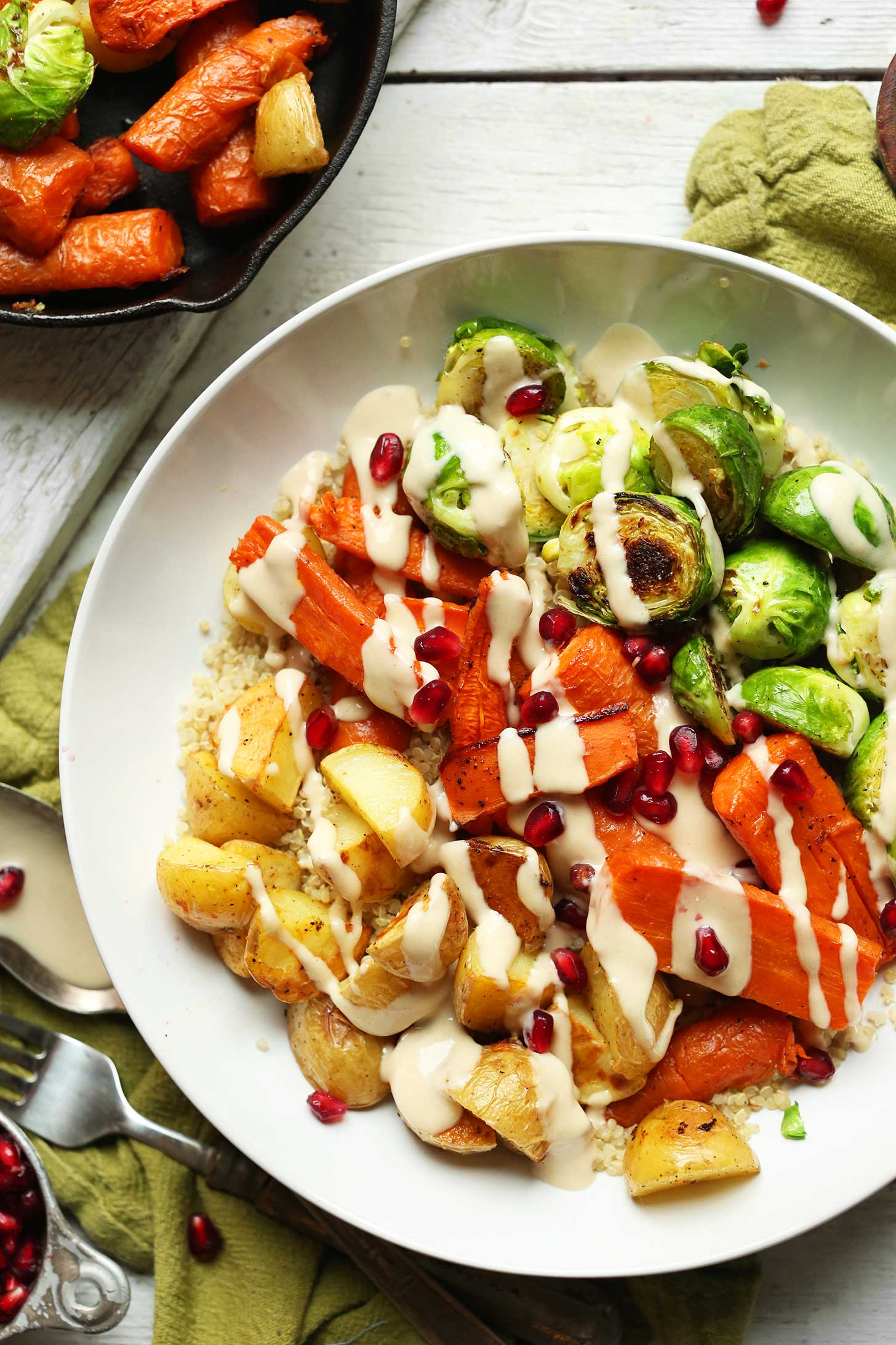 Amazing 30 Minute Roasted Vegetable And Quinoa Harvest Bowls Hearty Wholesome