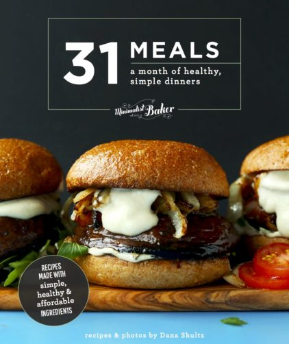 Picture of the cover of our 31 Meals ECookbook