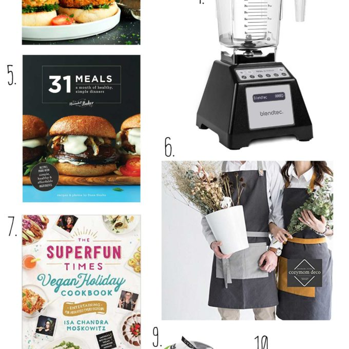 Photos of items recommended in our 2016 Holiday Gift Guide perfect for vegans