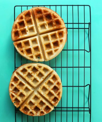 The Best Vegan Gluten-Free Waffles