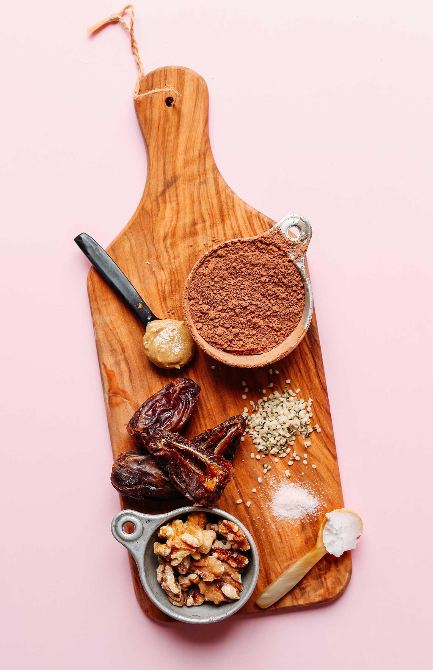 Hemp Dark Chocolate Energy Bites Minimalist Baker Recipes