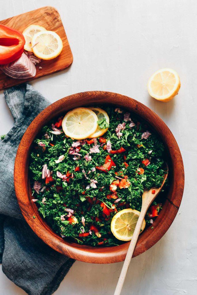 Grain Free Tabbouleh Salad Minimalist Baker Recipes