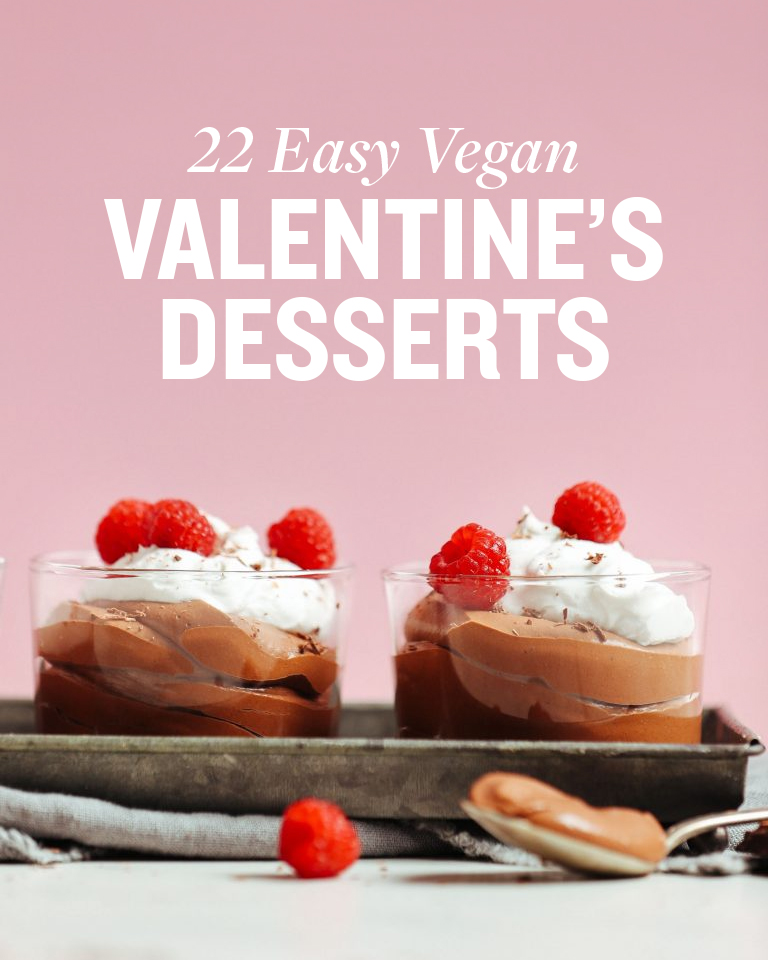 Valentine\'s Day Vegan Dessert Round-Up | Minimalist Baker Recipes