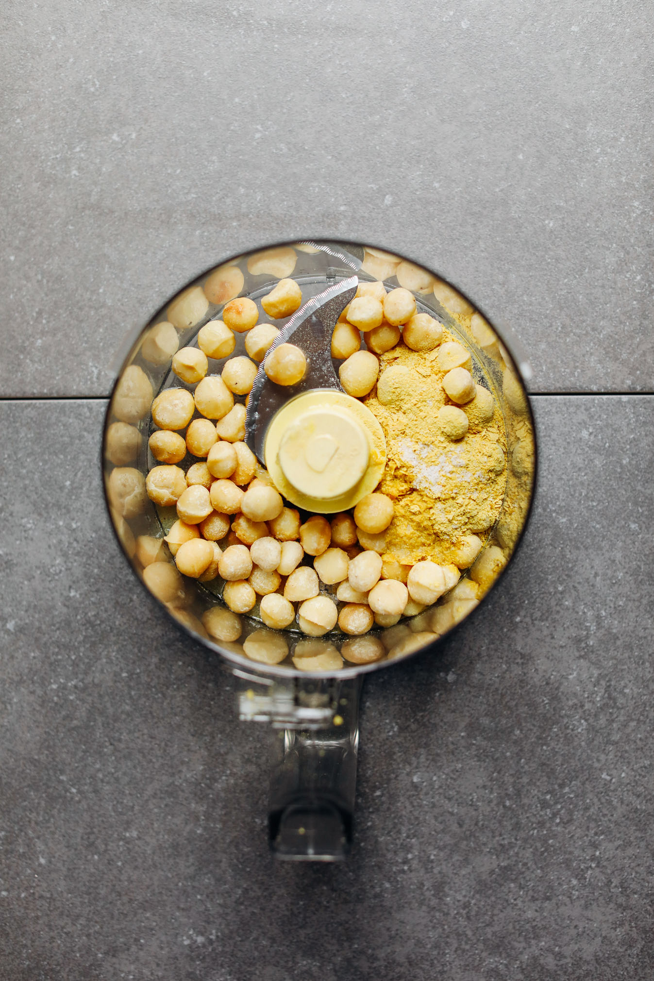 Macadamia nut cheese and vegan crudit minimalist baker recipes food processor with macadamia nuts nutritional yeast garlic powder and salt for making forumfinder Images