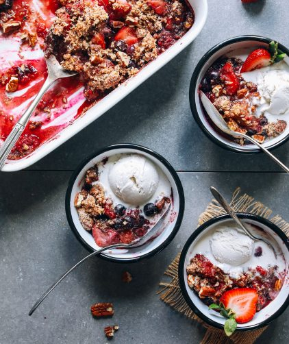 Grain-Free Berry Crisp