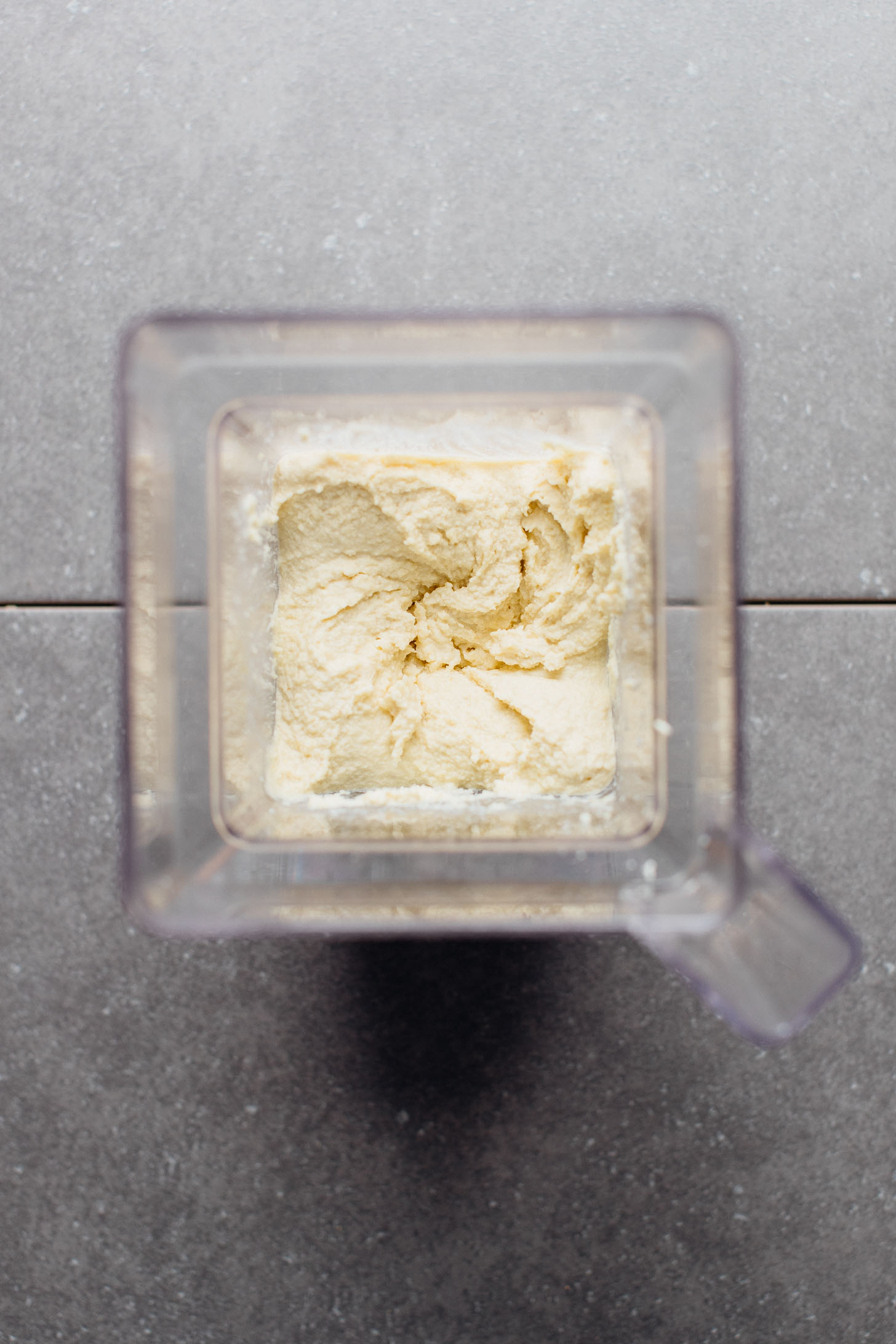 Freshly WHIPPED Vegan Ricotta Cheese in the blender